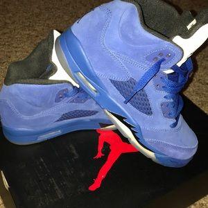 Jordan Shoes - Authentic Royal Blue Jordan's